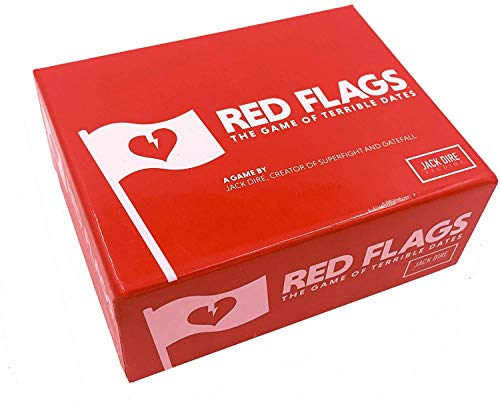 Red Flags: The Game of Terrible Dates | Funny Card Game / Party Game for Adults 310 Players | by Jack Dire Creator of Superfight