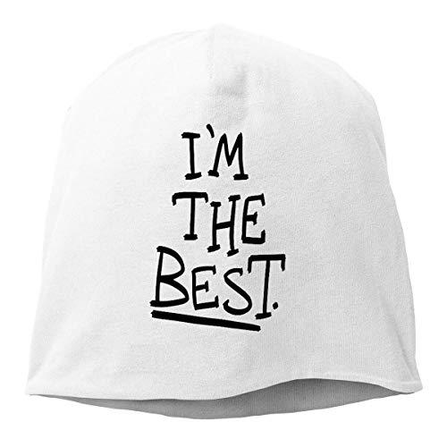 FUGVO Black I 'm The Best Fascinator Hat Gorra de Cobertura Personalizada