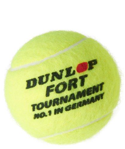 Dunlop Tennisball Fort Tournament 4er Dose