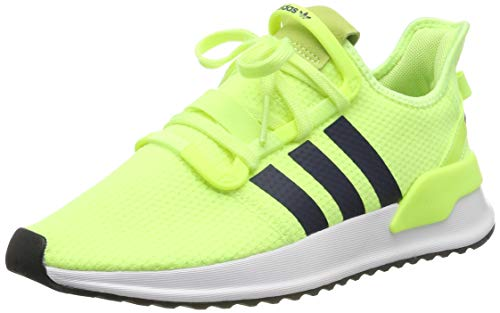 adidas Herren U_Path Run Sneaker, Gelb (Hi-Res Yellow/Collegiate Navy/Footwear White 0), 44 EU