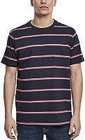 Urban Classics Yarn Dyed Skate Stripe Tee T-Shirt Uomo