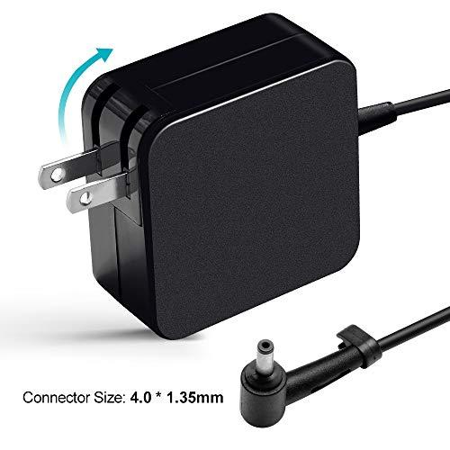 65W AC Adapter Charger for Asus X540 X540S X540SA X540UA X540L X540LA X553 X553MA X553S X553SA Zenbook UX305 UX305LA UX21A UX32A T300LA TP300LA Power Supply Cord
