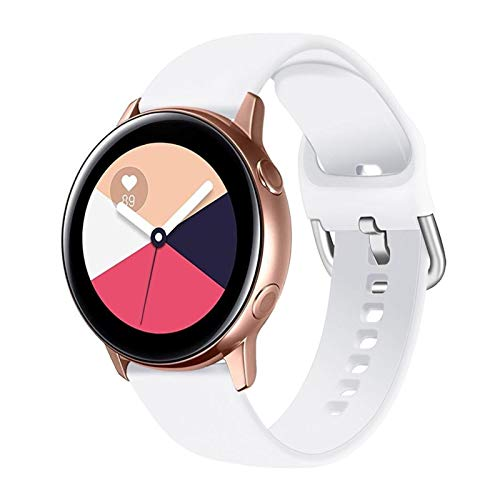 KADIWOAD 2021 Nueva Correa de 20 / 22mm para Samsung Galaxy Watch 3 45mm 41mm Active 2 46mm 42mm Gear S3 Wamkband Pulsera para Huawei Smart Watch GT 2 Pro