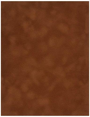 Sew Easy Industries 12 Blatt Samt-Papier, 21,6 x 27,9 cm, Kokosnuss 8.5 by 11-Inch Mokka