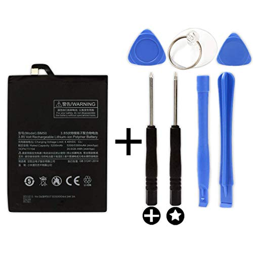 Bateria BM50 para Xiaomi Mi MAX 2 + Kit Herramientas/Tools | 5300mAh