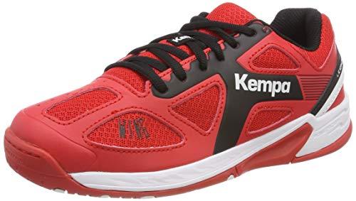 Kempa Unisex-Kinder Wing JUNIOR EBBE & Flut Multisport Indoor Schuhe, Rot (Lighthouse Rot/Schwarz 06), 31 EU