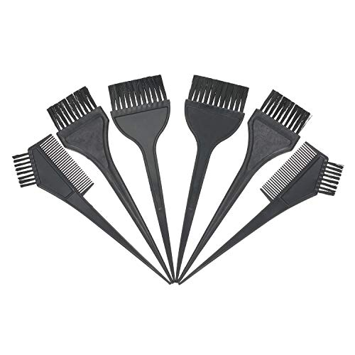 Kit de coloration des cheveux Brosses de teinture des cheveux Peignes de teinte double face Bols à mélanger Pinces à cheveux Couvre-oreilles Gants jetables pour la maison et le salon Coloration des
