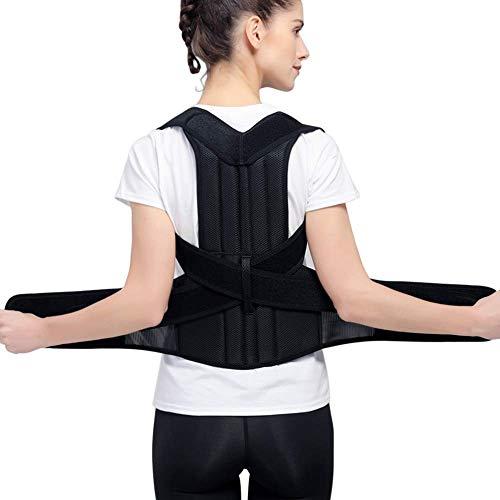 """Haltungskorrektur, MS.DEAR Haltungskorrektur Geradehalter Rückenstütze, Atmungsaktiv Verstellbare Geradehalter Rückenstütze für Damen& Herren, Linderung von Schulterschmerzen (Taille 24\"""" - 31\"""", S)"""
