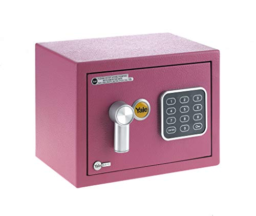 Yale YSV/170/DB1/P Caja de Seguridad a Mobile, Rosa, XS