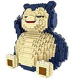 Block Toy Building Block - Bloque de construcción con bonitos dibujos animados para relajación, juego de mini bloques para manualidades, regalo para niños y adultos