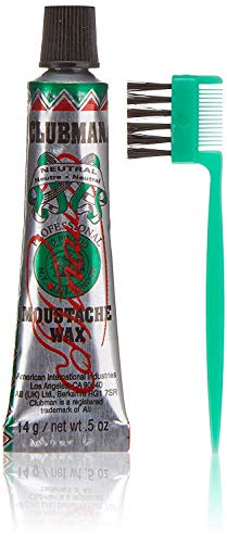 Clubman - Confezione di cera per baffi, 14,2 g