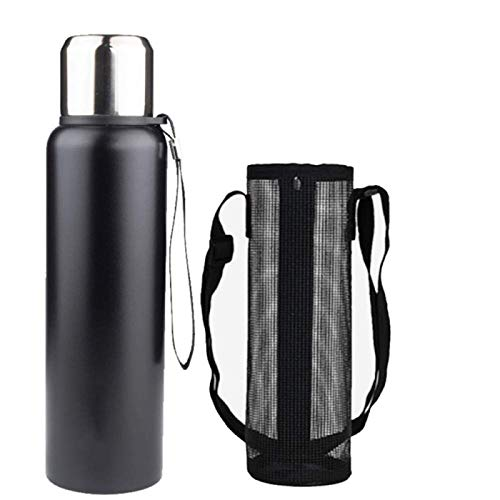 Lamyanran Coffee Travel Mug Men Women Adult Thermos,Best Stainless Steel Thermos Bottle-Perfect for Office,Camping and Outdoor,500ML-Black Eco-Friendly & Relaxing Gifts