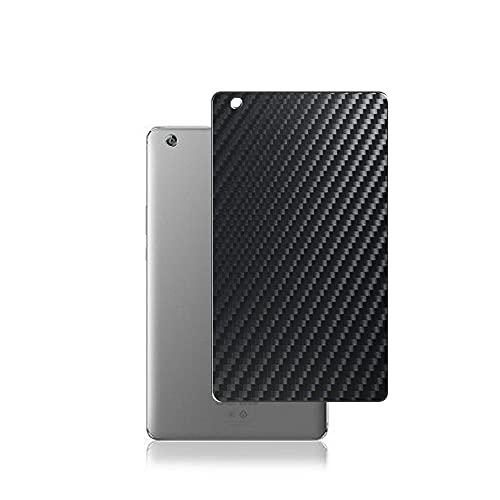 """Vaxson 2 Stück Rückseite Schutzfolie, kompatibel mit HUAWEI MediaPad M3 Lite 8.0 8"""", Schwarz Backcover Skin Cover [nicht Displayschutzfolie Hülle Case ]"""