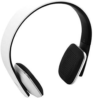 eDealMax Reducción de ruido Tablet PC inalámbrica Bluetooth estéreo auriculares del receptor Blanca w Cable USB