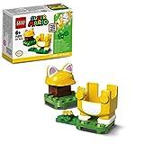 LEGO 71372 Super Mario Pack Potenciador: Mario Felino Juguete de Construcción