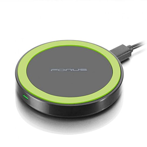 10W Fast Charge Wireless Charger Compact Charging Pad [Compact] Non-Slip Design for Verizon Motorola Droid Turbo - Verizon Motorola Google Nexus 6 - Verizon Samsung Galaxy Note8 (SM-N950UZKAVZW)