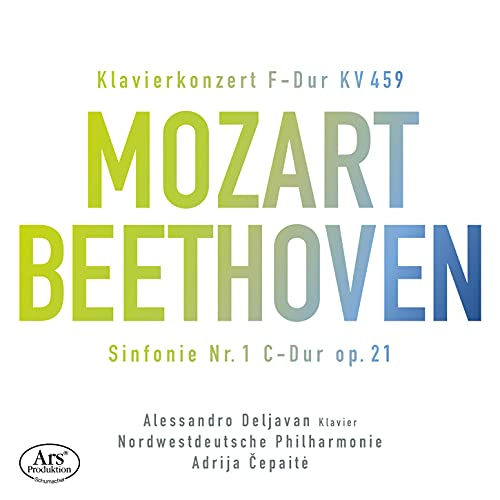 Mozart/Beethoven: Klavierkonzert KV 459 / Sinfonie Nr. 1 C-Dur Op.21