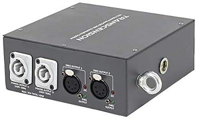 Transcension HS2 Hybrid PowerCON DMX Distribution Splitter