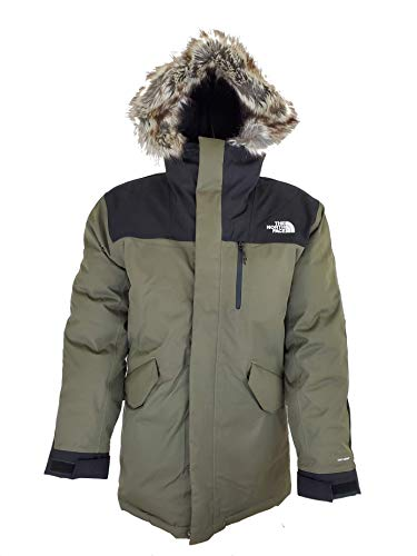The North Face Bedford Men's Down Jacket Winter Parka (Green,M)