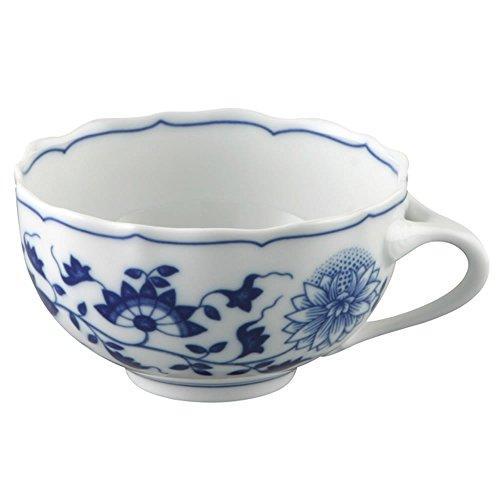 Hutschenreuther 02001-720002-14642 Zwiebelmuster Tee-Obertasse, 0,22 L, blau