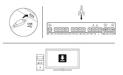 Logitech G Pro Mechanische Gaming-Tastatur, Für E-Sport Gaming, Romer-G Taktile Switches, RGB-Beleuchtung, 12 Programmierbare Tasten, Kompakt & Ohne Nummernblock, US QWERTY-Layout - Schwarz
