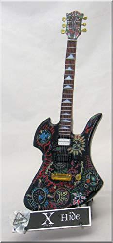 X-Japan HIDE Miniatur-Gitarre Fernandes mit Plektrum