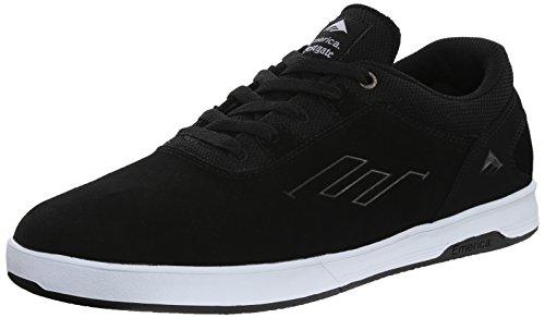 Emerica Herren Westgate CC Skateschuh, (schwarz/weiß), 39.5 EU