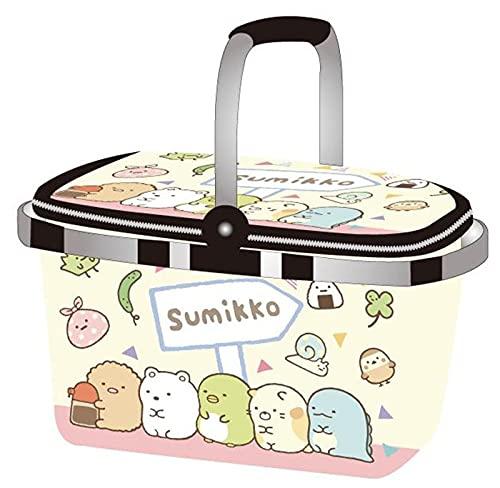 Niedliche Faltbare isolierte Mittagessen-Tasche Picknickkorb Kawaii Anime Thermalweinkühler-Box Sumikko Carrier-Tasche Lebensmittelkorb (Color : 11)