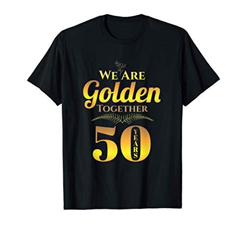 50 Anni - 50° Anniversario di Matrimonio Maglietta