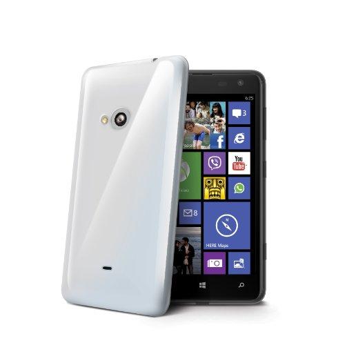 Celly Cover in TPU per Nokia Lumia 625, Trasparente
