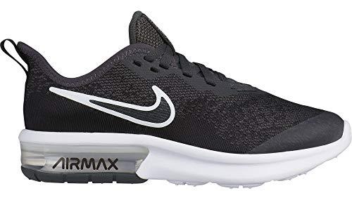 Nike Air MAX Sequent 4 EP (GS), Zapatillas de Atletismo para Hombre, Multicolor (Anthracite/Black/Metallic Silver/White 000), 38.5 EU