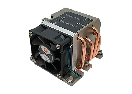 Inter-Tech B-13 Prozessor Kühler - Computer Kühlkomponenten (Prozessor, Kühler, LGA 3647 (Socket P), Intel® Xeon®, Mehrfarben)