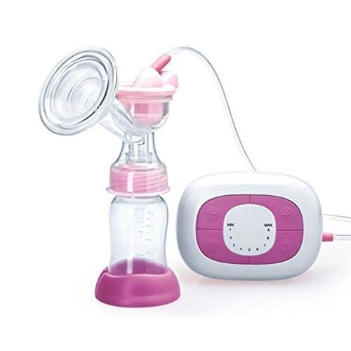 Pompe à lait électrique automatique aspirateur de lait 12V aspiration de moteur de grandes fournitures post-partum soutien bilatéral du lait maternel 9 ajustement de fichier