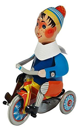 ABA aba64078 Boy op een driewieler metalen speelgoed