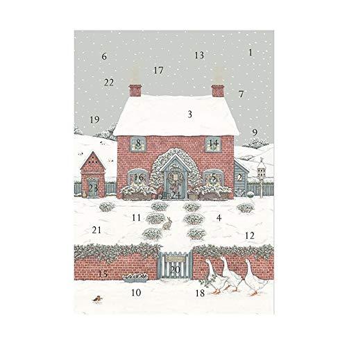 Wrendale Designs Sally Swannell Adventskalender, Weihnachtsbaum-Motiv