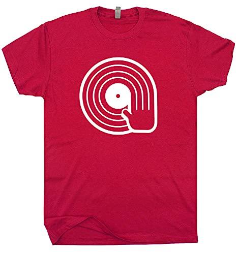 SHEHUI DJ Technics T Shirt Turntables Cool Beastie Vintage Vinyl Record Boys Men Women Black 3XL
