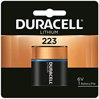 Duracell Distributing Nc 12210 Lithium Photo Battery, 223, 6-Volt - Quantity 6