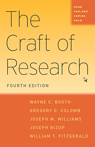 The Craft of Research, Fourth Edition (Chicago Guides to Writing, Editing, and Publishing) (English Edition)