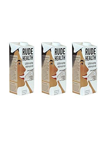 Rude Health Lot de 2 lait d'amande bio 1...