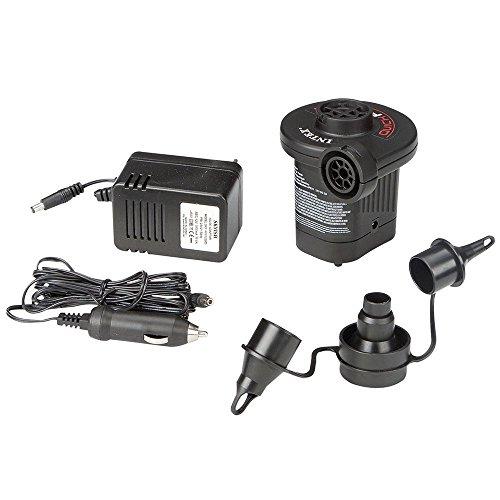 Intex Quick Fill AC/DC Elektrische Pumpe - Elektrische Luftpumpe - Mit 3 Düsenaufsätze