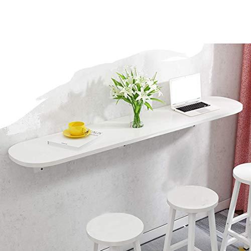 XYSQWZ Mesa Plegable De Hoja Abatible Montada En La Pared Mesa Plegable De Madera para Ahorrar Espacio Mesa De Trabajo Convertible Mesa De Trabajo Multifunción Comedor