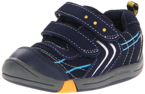 Jumping Jacks Lazer Sneaker (Toddler),Dark Navy Suede/Silver Trim,4.5 M US Toddler