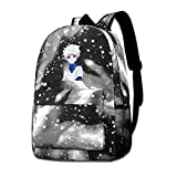BILLYHERBERT Hunter x Hunter Killua Anime Galaxy Laptop Computer Backpack Casual Daypacks Travel Backpacks Bag Work Bookbag Business Laptops Backpack College School Travel Bag Gray