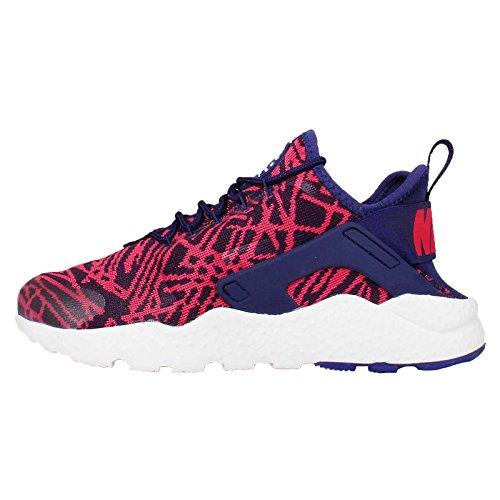 Nike W Air Huarache Run Ultra KJCRD, Zapatillas de Deporte Mujer, Azul (Loyal Blue/University Red), 43/44