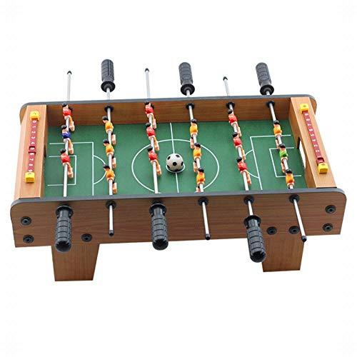 FANCYKIKI Kinder 5 Tischfußball Tischspieltisch Geburtstagsgeschenk Eltern-Kind-Sport Jungen Pädagogisches Spielzeug Tischfußball Maschine (Size : 50 * 25 * 15.5cm)