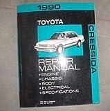 1990 TOYOTA CRESSIDA Service Shop Repair Manual OEM FACTORY DEALERSHIP BOOK