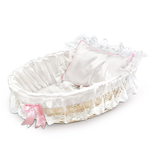 Bassinet For Baby Doll Accessory by The Ashton-Drake Galleries