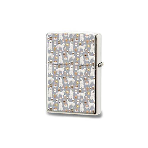 Encendedor unisex de bolsillo resistente al viento, ideal para cigarrillos y velas de cigarrillos