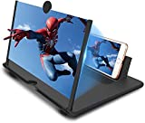 1 YEAR REPLACEMENT WARRANTY ON ALL OVER INDIA [ Better View Experience] New upgrade 3D screen magnifier, magnify the phone screen 3-4 times, perfect for watching movies and reading [ Universal Compatibility ] This Phone Screen Amplifier works with al...