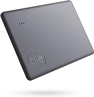 Tile Slim (2020) Bluetooth key finder, 1-pack, bereik 60m, tot 3 jaar batterijduur, incl. zoekopdracht met behulp van de c...